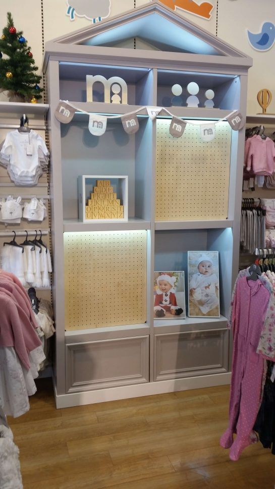 Mothercare stand after